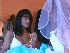 Hot Indian In Wedding Night 3some