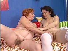 Lesbische Omas Part 3 With Dentures