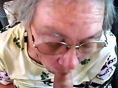 German Granny Cumshot 3