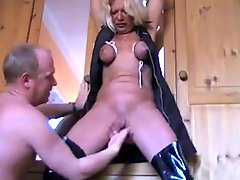 Old MILF Really Hard Bondage 2