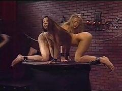 Sm BDSM Lesbian Bondage Torture Pain