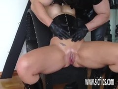 Busty Blond Fist Fucked Till She Squirts