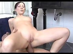 Bathroom With Mature Woman 1