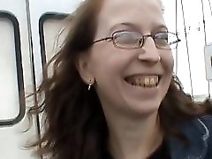 Virginie Gangbanged Into A Van