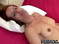 He Fucks His Mature Maid On Sofa !!