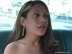 Blowjob In Cop Car