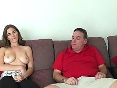 Daughter Fucks Her Dad To Get Out Of Trouble