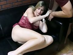 Son Fuck Not Her Mom On Bed And Cum Inside