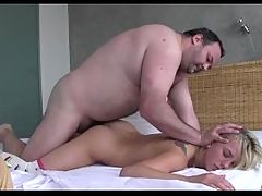 Cute Teen Fucked By A Dirty Old Man