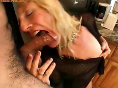 Mature Blond Shemale