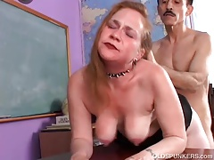Kinky Old Spunker Likes A Rough Fucking And A Sticky Facial
