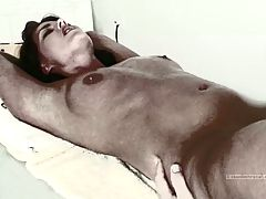 Latex Tape Restained Simony Licked To Orgasm