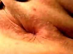 Asshole Winking Extreme Close Up