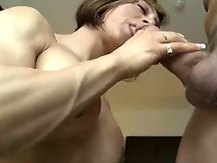 Muscle Milf Nicely Fucked Bvr