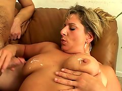 Busty Blonde Nurse Sucks And Motorboards Dude's Cock