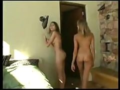 Nudist Sisters At Home