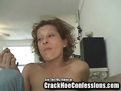 Skinny Granny Crack Whore Sucks My Balls