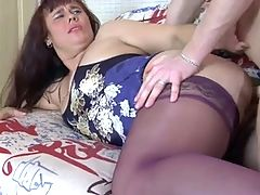 Nice Plump Sweet Stepmom & Guy