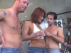 Mature And Three Men 3