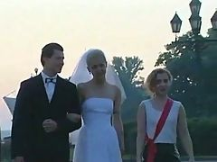 New Bride In Public Park F70