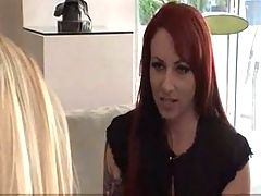 Cougar Seduces Babysitter During Interview