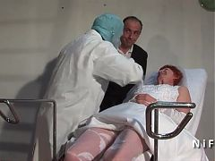Hairy French Mature Bride Hard Analized And Fisted In 3way