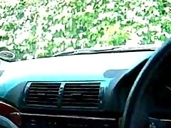 Cheating Wife Blows A Guy In His Car On Her Lunch Break