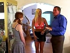 Amazing Hot Redhead Babysitter 3 Way