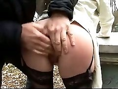 Big Boobsblonde Milf Banged Hard In Forest
