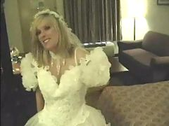 Blonde Amateur Wedding Night