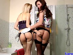 Mature Pussylicking Lesbian In Stockings Orgasms