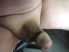 68 Yrold Grandpa #142 Mature Cum Close Closeup Wank Uncut