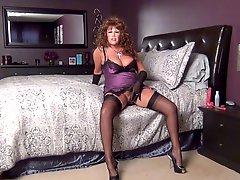 Sexy Slip & Stockings