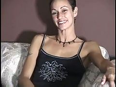 Lesbian Takes First Cock