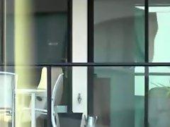Window Spy Hot Neighbour MILF