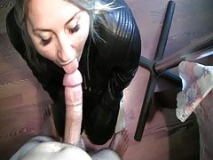 Leather Blowjob Wmv