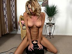 45 Yo Mature Sitting On A Sybian