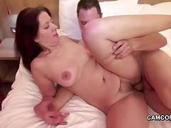 Hot Mother Seduce Her Step Son To Fuck When Dad Is Away