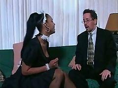 Sexy Black Maid Soleil