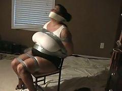 Super Sexy Bbw Tied Up