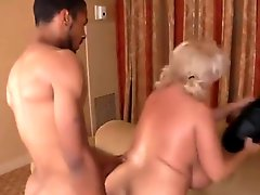 Busty MILF With Mega Tits Fucked By Black Guy