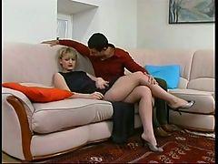 Anal Panty Hose Sc 42 Amelia & Igor