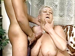 Chubby Granny Bangs Some Guy