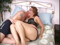 Sexy Chubby Latina Brunette Sucks And Fucks