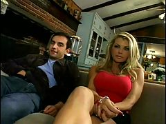 Beautiful Blonde Dp Big Titted MILF Gets Her Holes Filled Up By Older Guys