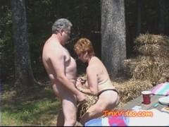 2 Nasty Grannies Fucked In Public