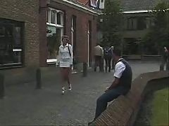 German Milf Fucked Outdoors