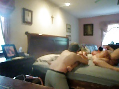 Mature First Threesome