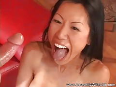 Interracial Asian Housewife Fucked