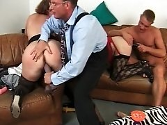 Two Nasty And Filthy Milfs Getting Big Dildos In Their